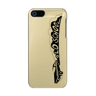 Old School Camaro - Gold / Metallic Phone Case