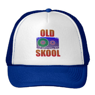 Old School Cassette Rave Trucker Trucker Hat