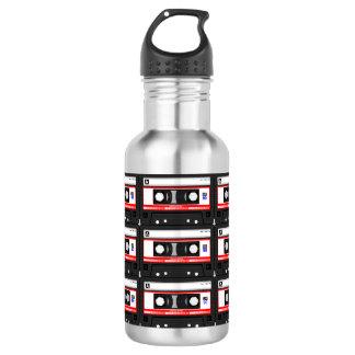 Old school cassette Tape 532 Ml Water Bottle