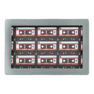 Old school cassette Tape Belt Buckles