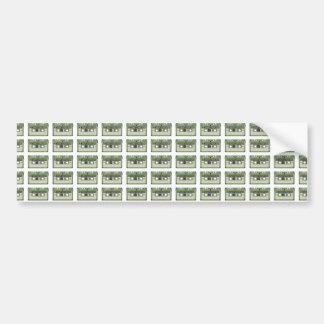 Old school cassette Tape Bumper Sticker