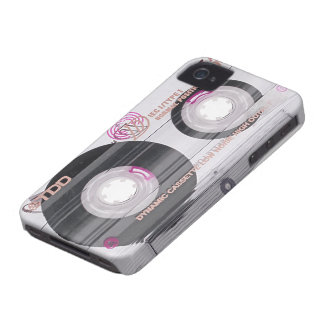 Old school cassette tape iPhone 4 cases