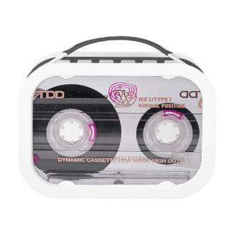 Old school cassette tape lunchbox