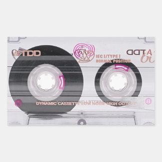 Old school cassette tape sticker