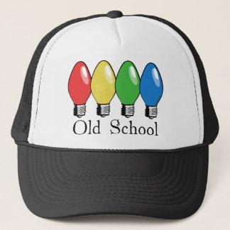 Old School Christmas Tree Lights Trucker Hat