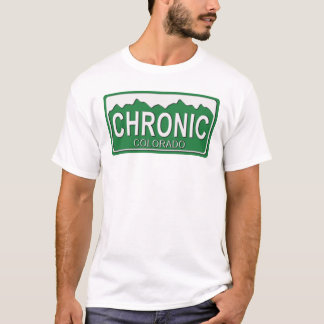 OLD SCHOOL COLORADO CHRONIC EMBOSSED T-Shirt