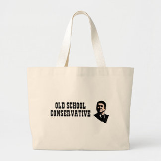 Old School Conservative Canvas Bag