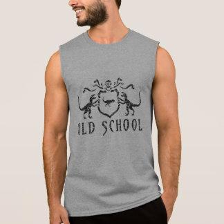 Old School Dino Shield Sleeveless Tee