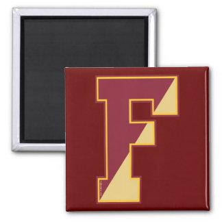 Old School F Fridge Magnet