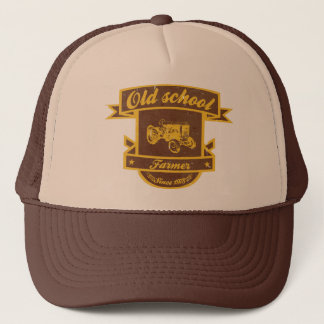 Old school farmer trucker hat