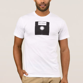 Old School floppy disc T-Shirt