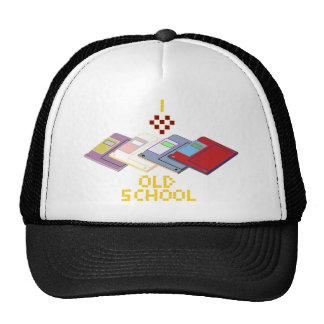 old school floppy trucker hat