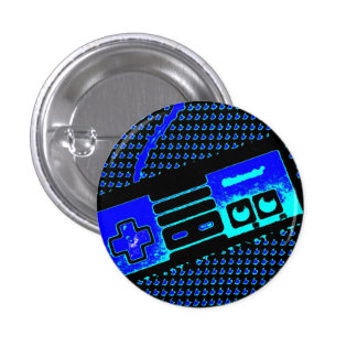 old school game controller 1 inch round button