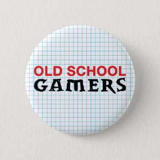 Old School Gamers Button