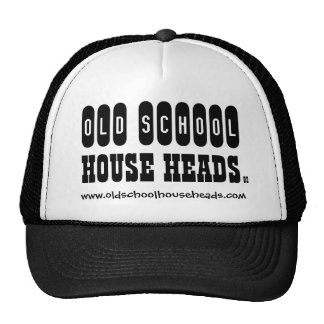 Old School House Heads Trucker Hat 1