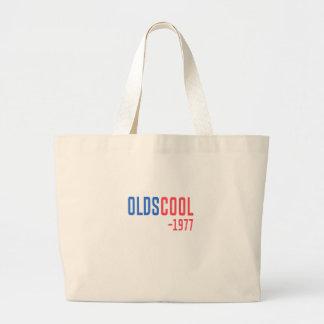 old school large tote bag