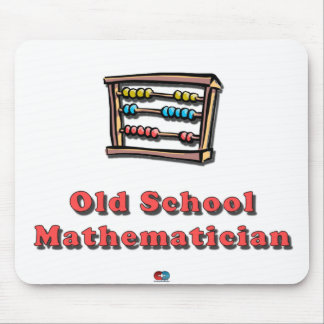 Old School Math Mouse Pad