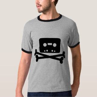 Old School Music Pirate Cool Geek T-Shirt