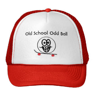 Old School Odd Ball Mesh Hats
