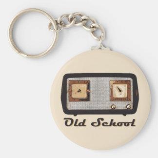 Old School Radio Retro Vintage Keychain