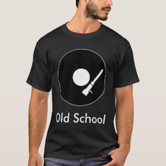 Old School - Record T-Shirt