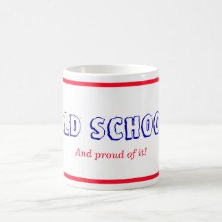 Old School Red Framed Coffee Mug