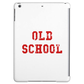 Old School Red Stencil Vintage Retro 80s iPad Air Covers