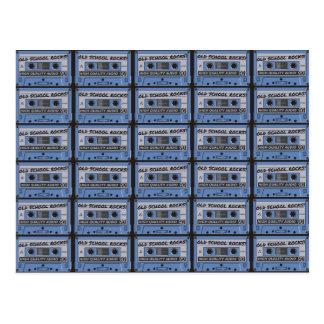 Old School Rocks Cassette Tapes Postcards