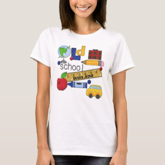 """""""Old School Rules"""" Personalized T-Shirt"""