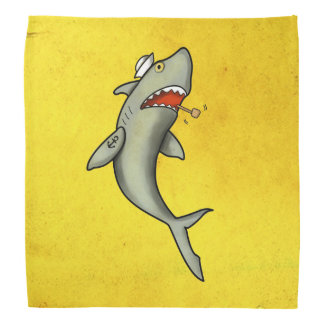 Old School Sailor Shark Bandannas