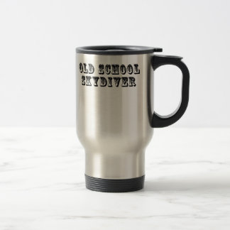 Old School Skydiver Travel Mug