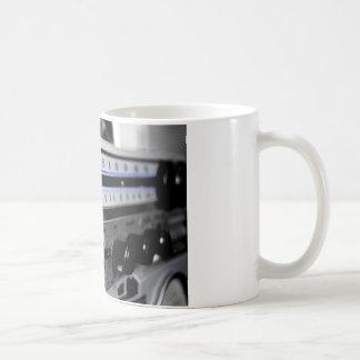 Old School Stereo Basic White Mug