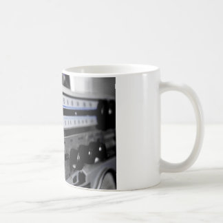 Old School Stereo Classic White Coffee Mug