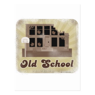 Old School Style Postcard