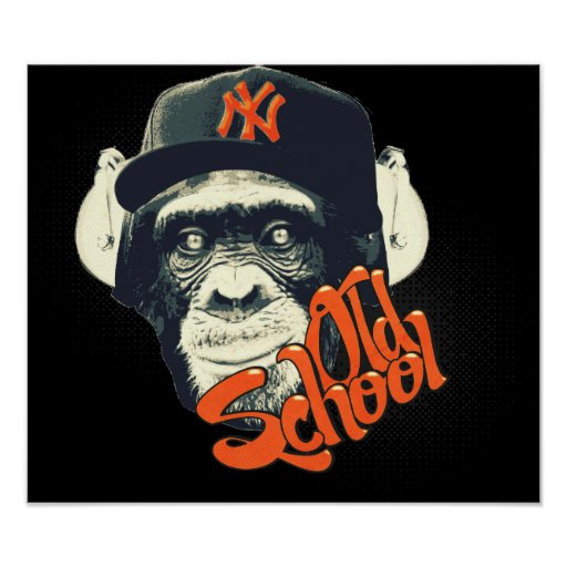 Old school swag monkey posters