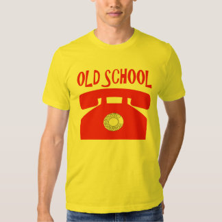 Old School. T Shirts