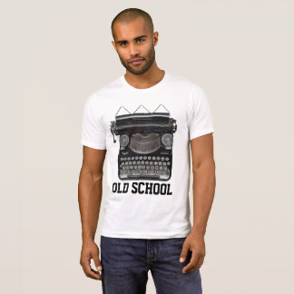 OLD SCHOOL T-shirts, Vintage Typewriter T-Shirt