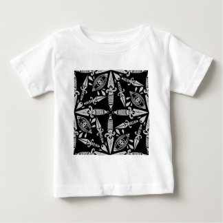 Old school tattoo daggers and eyes baby T-Shirt