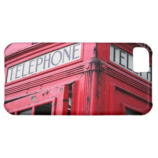 OLD SCHOOL TELEPHONE BOOTH IPHONE CASE RED HOT
