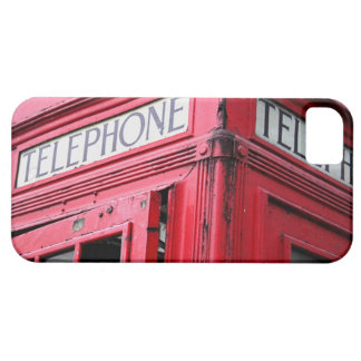 OLD SCHOOL TELEPHONE BOOTH IPHONE CASE RED HOT CASE FOR THE iPhone 5