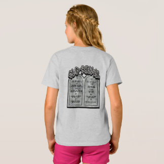 Old School Ten Commandments T-Shirt