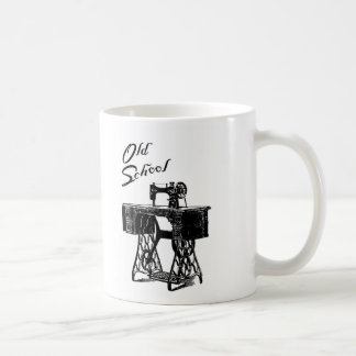 Old School Treadle Sewing Machine Mug
