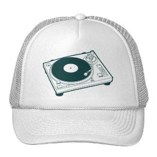 Old School Turntable Hats