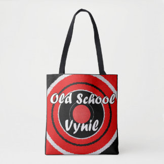 Old School Vynil Tote Bag