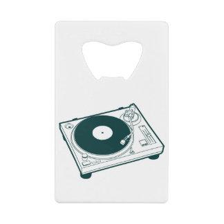Old School Wax (Vinyl) Turntable Wallet Bottle Opener