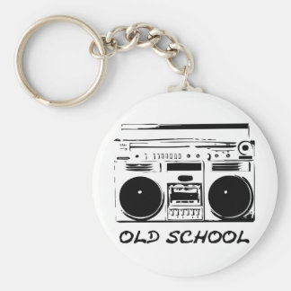 old School zazzle Key Chain