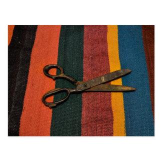 Old scissor card