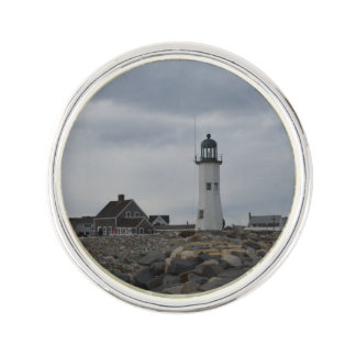 Old Scituate Lighthouse Lapel Pin