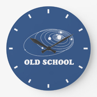 Old Scool Solar System Clock