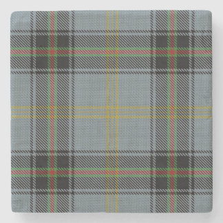 Old Scots Tavern Clan Bell Tartan Stone Coaster